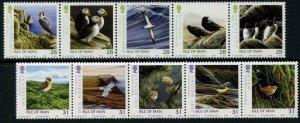 Isle of Man --2006 -Birds Strips  MNH Set  # 1141-1142