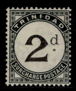 TRINIDAD AND TOBAGO GV SG D19, 2d black, M MINT.