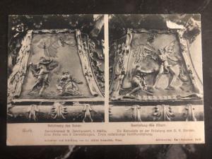 1920 German Austria Postcard Mixed Franking Cover To Prague Czech Republic