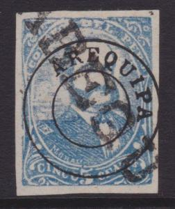 PERU AREQUIPA An old forgery of a classic stamp.............................5521