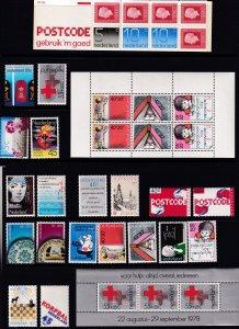 Netherlands 1978 - MNH Year Set + Bklt