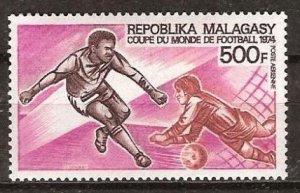 1973 Malagasy Republic 703 1974 FIFA World Cup in Munich 7,50 €
