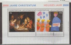 Liechtenstein Scott #1163 Stamps - Mint NH Souvenir Sheet