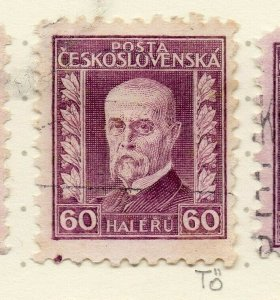 Czechoslovakia 1926-27 Issue Fine Used 60h. NW-148580