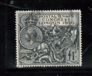 Great Britain #209 Very Fine Used With Light Cancel