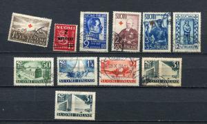 Finland 1937-39 Accumulation Used 3745