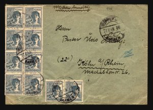 Germany 1948 Cover / Light Creasing - Z17190