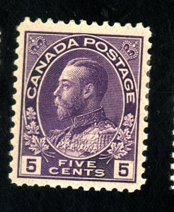 CANADA #112 MINT F-VF OG LH Cat $33