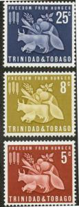 Trinidad & Tobago 110-112 Mint VF NH