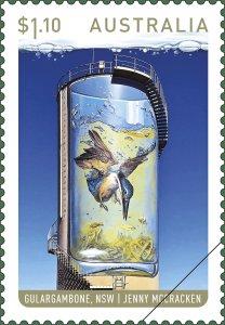 Australia Stamps 2020 - Water Tower Art - mini sheet