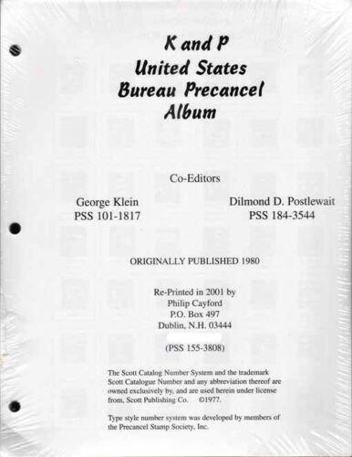 K&P Bureau Precancel Album