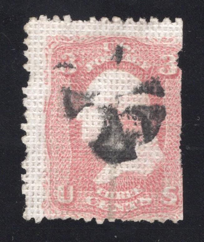 US# 79 Rose - A Grill - Segmented Cork Cancel - Faults