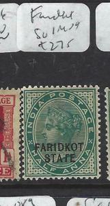 INDIA  FARIDKOT  (PP0704B)  QV  1/2A  SG 1  MOG