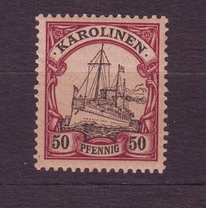 J23229 JL stamps 1901 caroline island mnh #14 ship