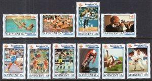 St Vincent 1588-1597 Summer Olympics MNH VF