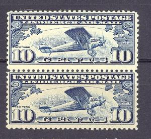 USA  C7  pair   Mint VF  NH  -    Lakeshore Philatelics