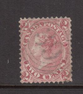 Canada #20 VF Used With 4 Ring 39 St Johns CE Cancel