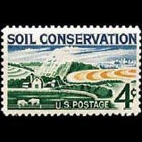 U.S.A. 1959 - Scott# 1133 Soil Conservation Set of 1 NH