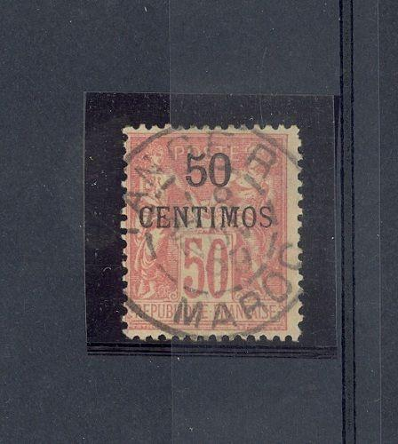 French Morocco Scott 6     [ID#422936]