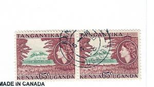 Kenya,Uganda,Tanzania, 111, Mt. Kilimanjaro Horz. Pair, Used
