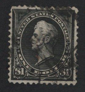 United States USED Scott Number 276  F-VF  #V4  - BARNEYS