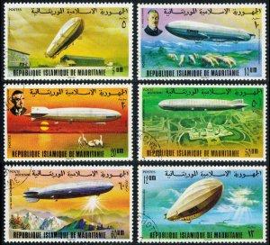 Mauritania Scott 345-348 Used.
