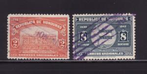 Honduras 337, 340 U Various (D)