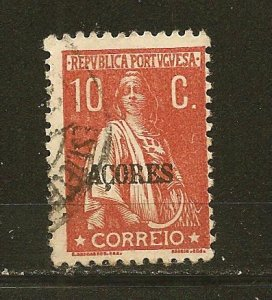 Azores 181 Ceres Overprinted Used