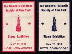 The Women's Philatelic Society of NY Stamp Exhibition - 1939