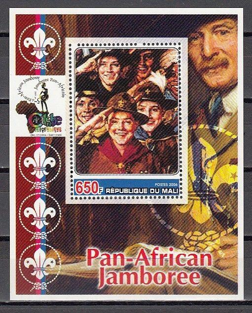 Mali, 2006 Cinderella issue. N. Rockwell`s Boy Scout Illustration on a s/sheet.