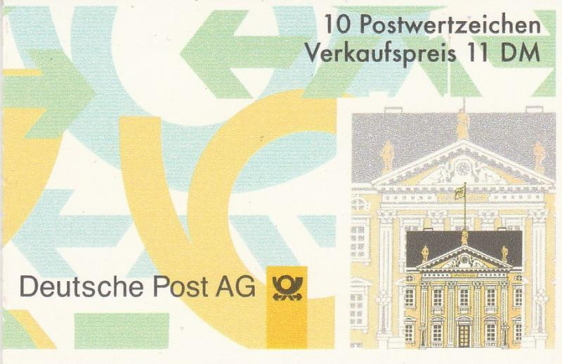 Germany #1846a Complete Booklet  CV $11.50 (K1102)
