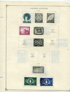 Scott Intl Stamp Album T-U countries 129 pages + 15 stamps. Good condition 1212.