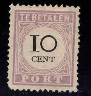 Suriname Scott J11 MNG Postage due Type 3