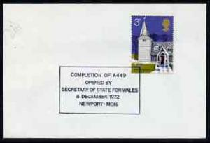 Postmark - Great Britain 1972 cover bearing special cance...