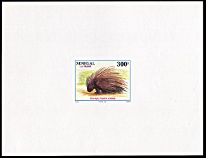 Senegal 1182, MNH, Animals, 5 Deluxe Sheets