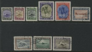 Greenland complete set used
