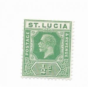 St. Lucia #76 MH - Stamp - CAT VALUE $1.00