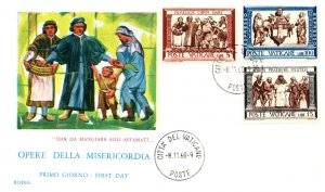 Vatican City, Worldwide First Day Cover