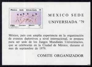 Mexico 1181 Souvenir Sheet MNH VF