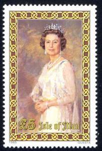 Isle of Man Sc# 281 MNH 1985 Queen Elizabeth II