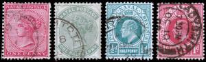 Natal Scott 51, 66, 101-102 (1874-1904) Used H F-VF, CV $9.90 B