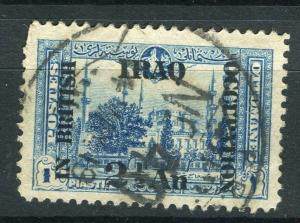 IRAQ; 1918 BRITISH OCCUPATION issue fine used 2.5a. value + good POSTMARK