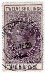 (I.B) New Zealand Revenue : Stamp Duty 12/6d
