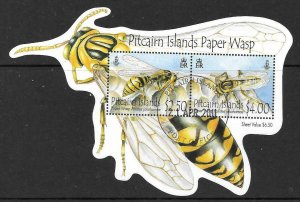 PITCAIRN ISLANDS SGMS828 2011 WASPS FINE USED