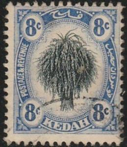 Malaya-Kedah; #9 Used, From 1912-21