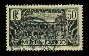 Middle Congo 1933 #76 U SCV(2018)=$0.70