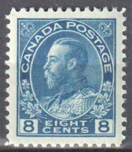 Canada #115 Mint XF NH -- Choice -- C$180.00