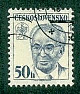 Czechoslovakia -  #2443 President Gustav Hasak -  CTO