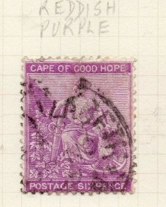Cape of Good Hope 1884 Early Issue Fine Used 6d. 284475