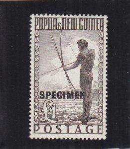 Papua & New Guinea: 1p Specimen, S.G. #15, MNH (30743)